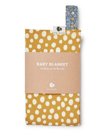 Coracor Babyfilt (Abstract Dot Mustard)