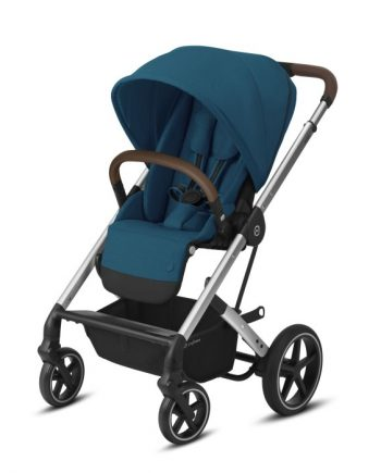 Cybex Balios S Lux Sittvagn (Silver/River Blue)